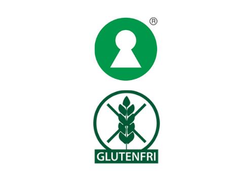 nøglehulsmærket og glutenfri fiskefrikadeller