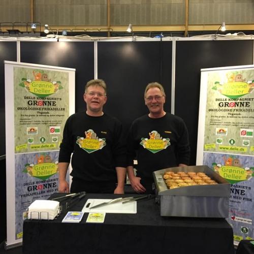 Delle kompagniet grønne økologiske fødevare